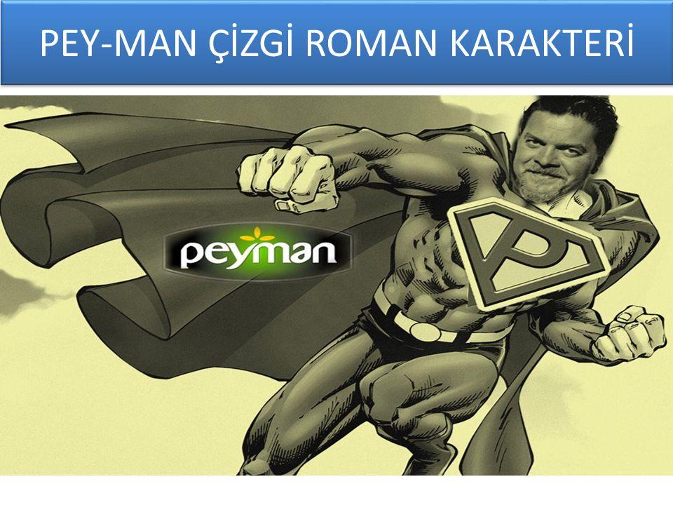PEY-MAN ÇİZGİ ROMAN KARAKTERİ
