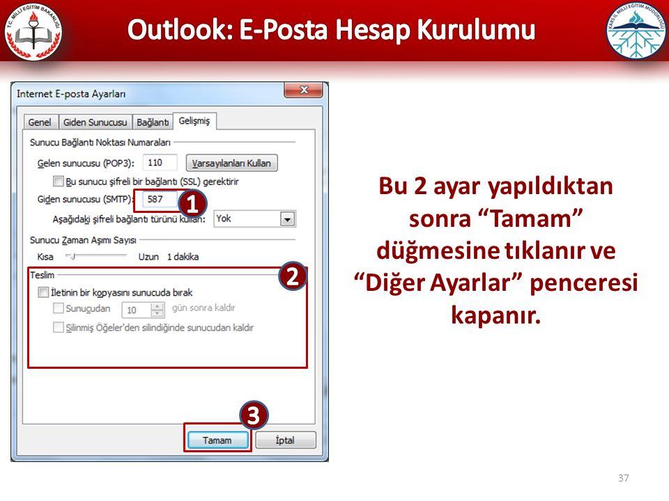 Outlook: E-Posta Hesap Kurulumu