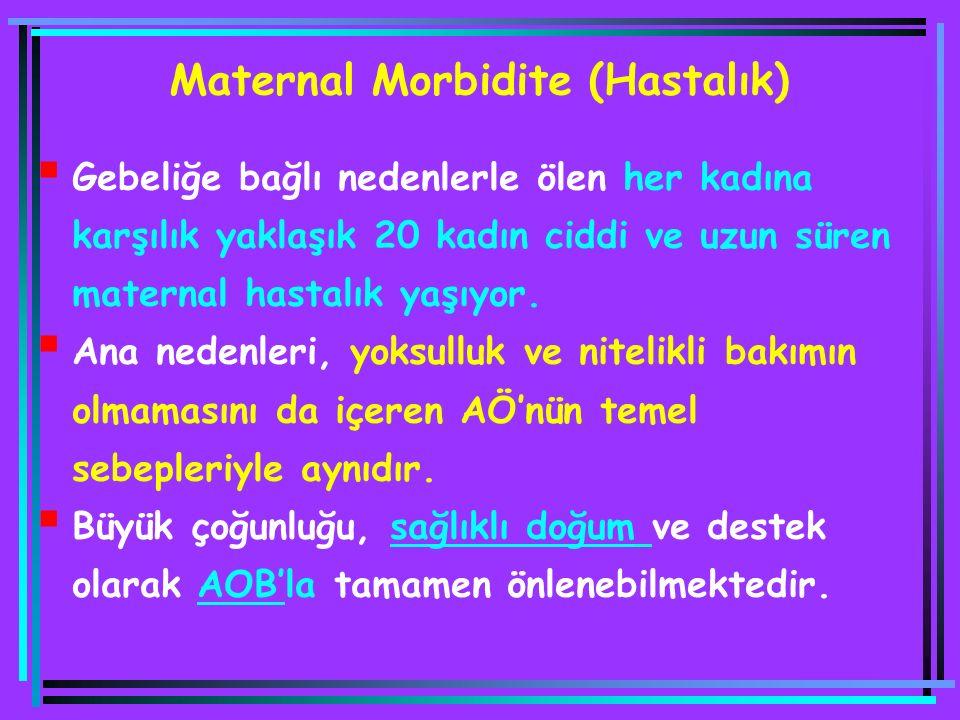 Maternal Morbidite (Hastalık)