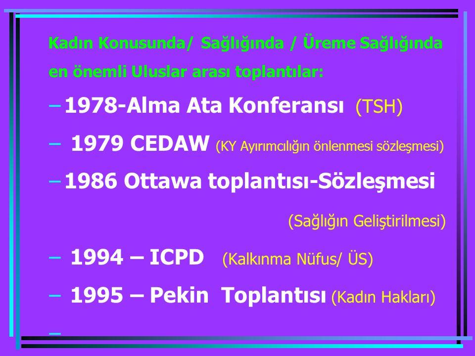 1978-Alma Ata Konferansı (TSH)