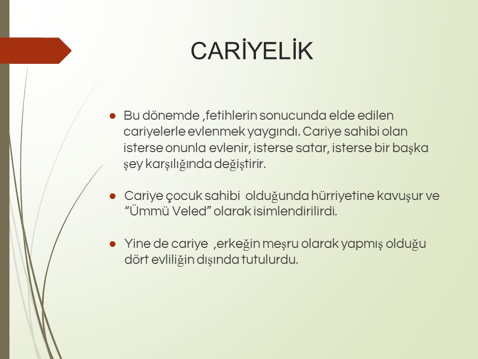 CARİYELİK