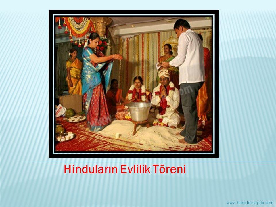 Hinduların Evlilik Töreni