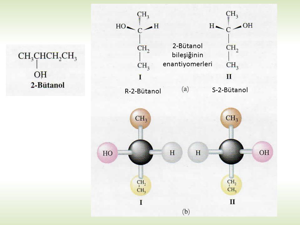 2-Bütanol bileşiğinin enantiyomerleri