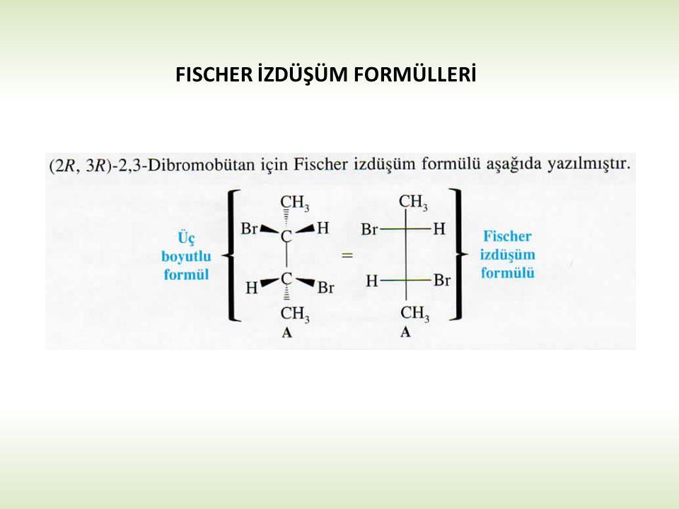 FISCHER İZDÜŞÜM FORMÜLLERİ