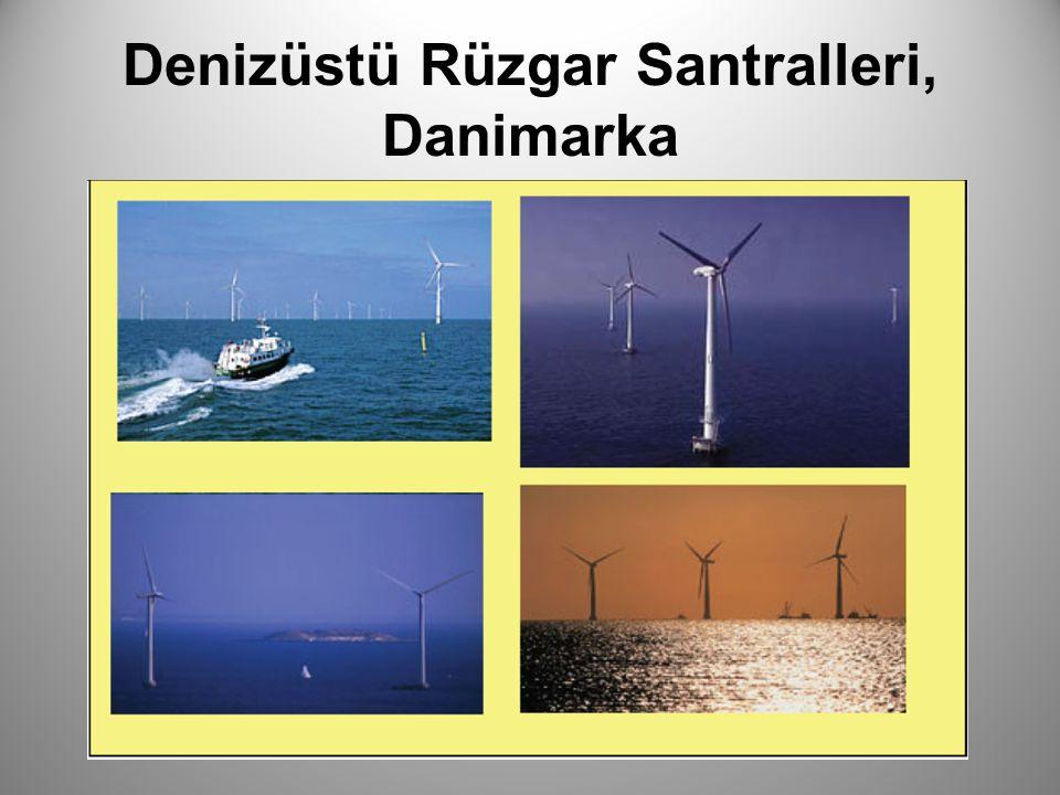 Denizüstü Rüzgar Santralleri, Danimarka