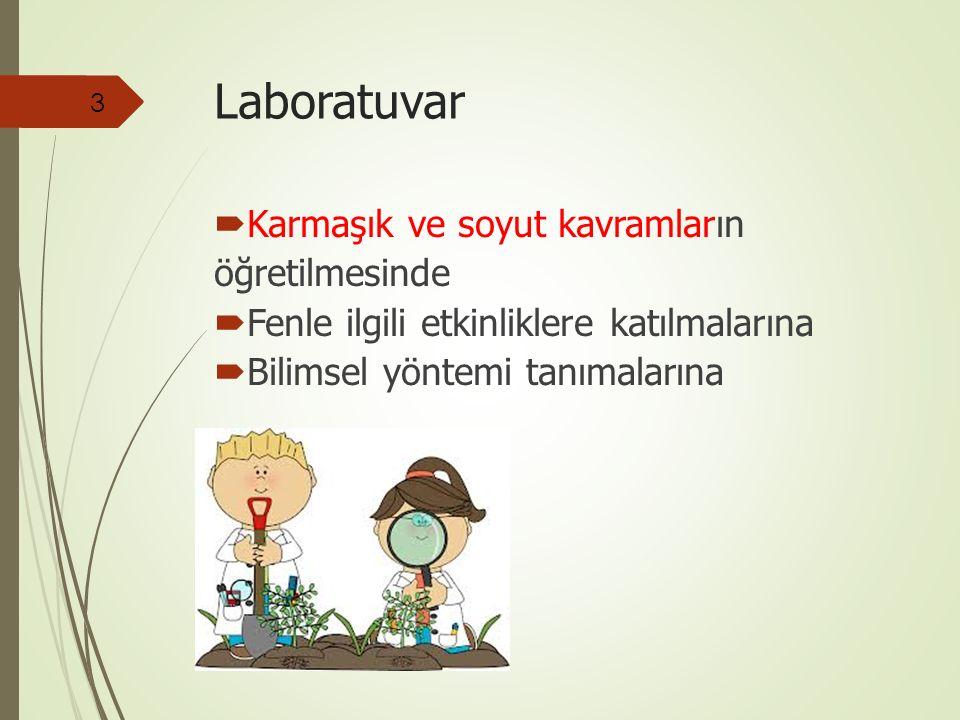 Laboratuvar Karmaşık ve soyut kavramların öğretilmesinde
