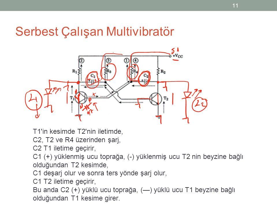 Serbest Çalışan Multivibratör
