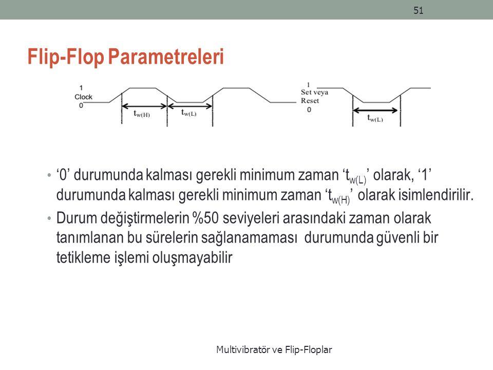 Flip-Flop Parametreleri