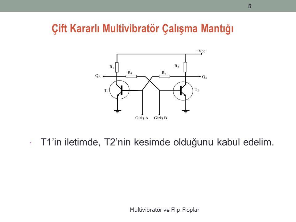 Çift Kararlı Multivibratör Çalışma Mantığı