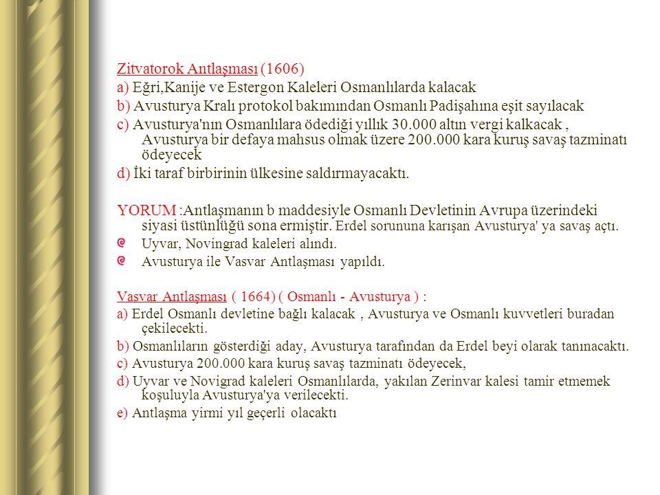 Zitvatorok Antlaşması (1606)