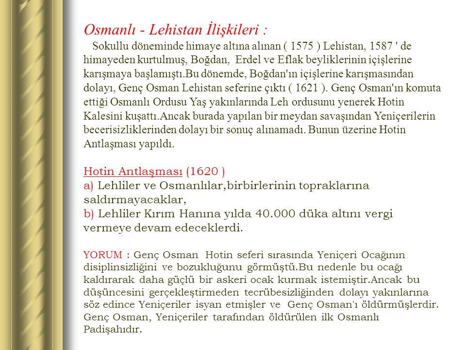 Osmanlı - Lehistan İlişkileri :