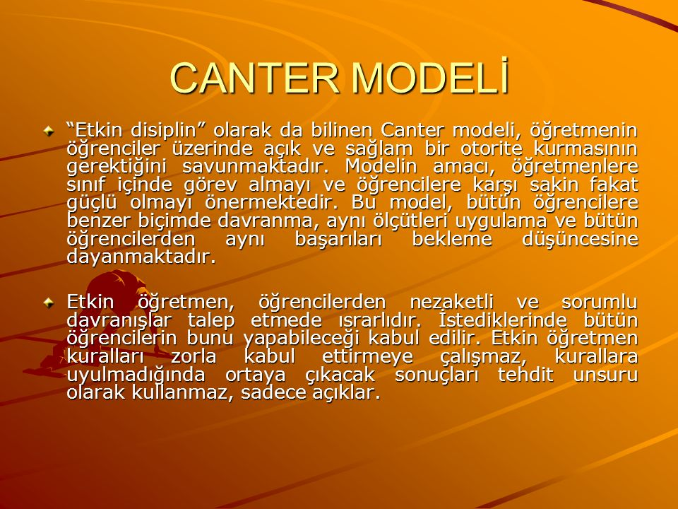 CANTER MODELİ