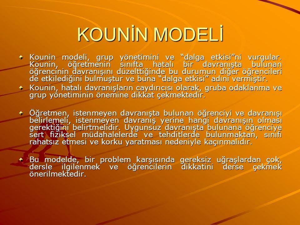 KOUNİN MODELİ