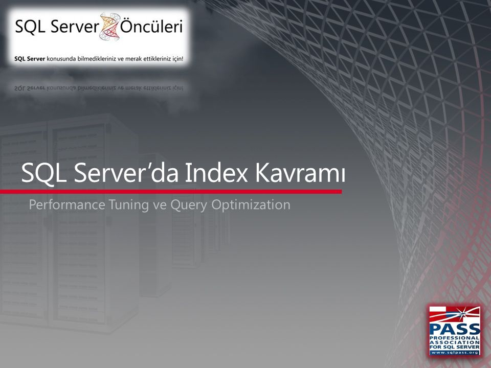 SQL Server'da Index Kavramı