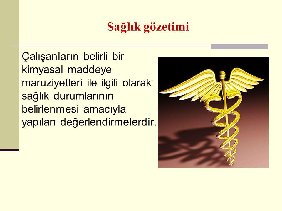 Sağlık gözetimi