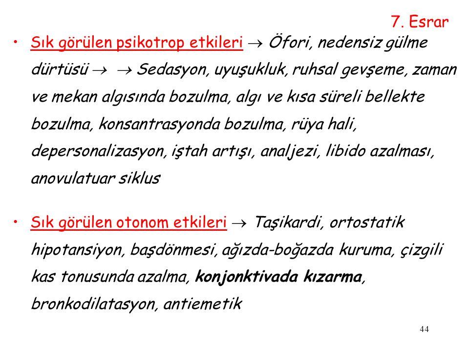 7. Esrar