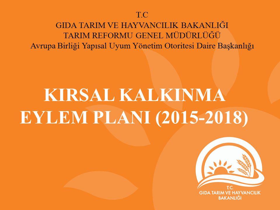 KIRSAL KALKINMA EYLEM PLANI (2015-2018)