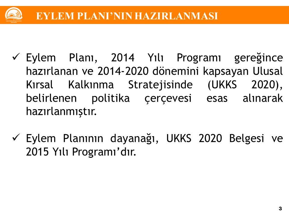 Eylem Planının dayanağı, UKKS 2020 Belgesi ve 2015 Yılı Programı'dır.