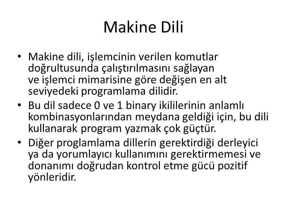 Makine Dili