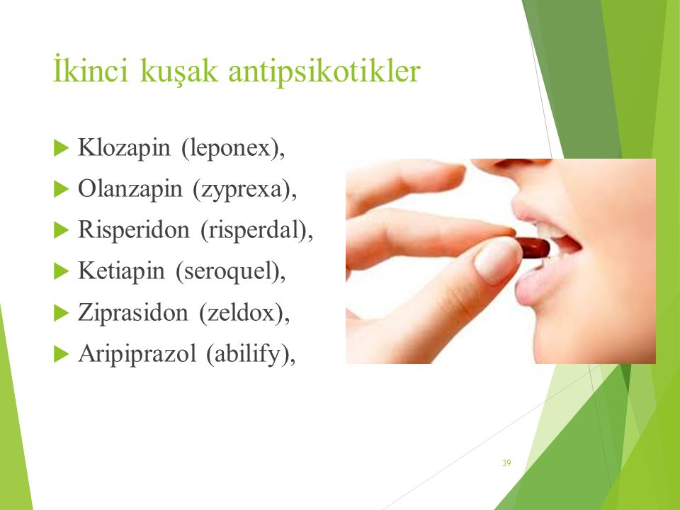 İkinci kuşak antipsikotikler