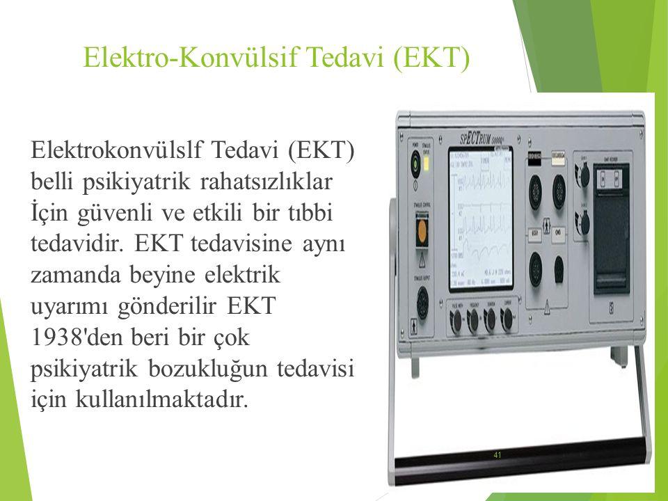 Elektro-Konvülsif Tedavi (EKT)