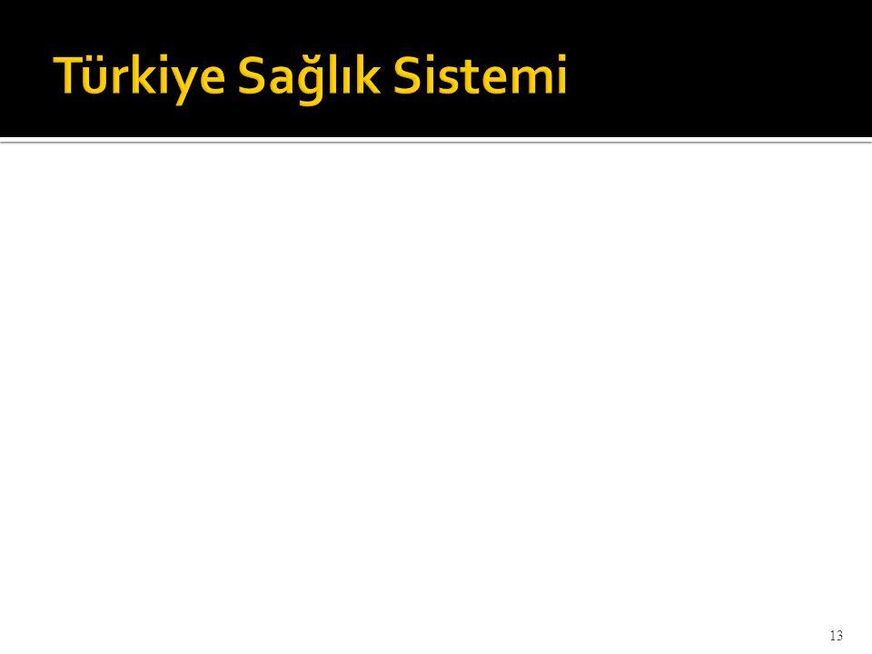 Türkiye Sağlık Sistemi