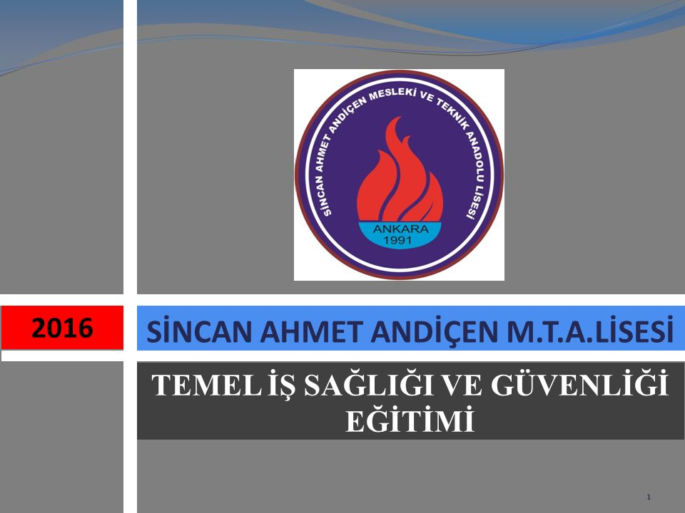 SİNCAN AHMET ANDİÇEN M.T.A.LİSESİ