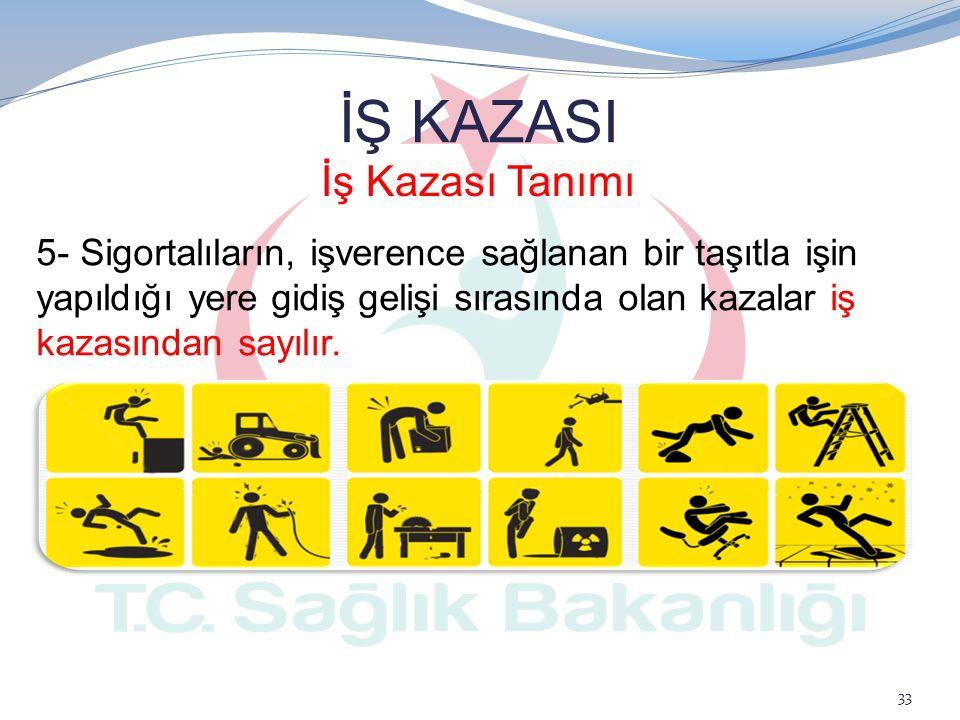 İŞ KAZASI İş Kazası Tanımı