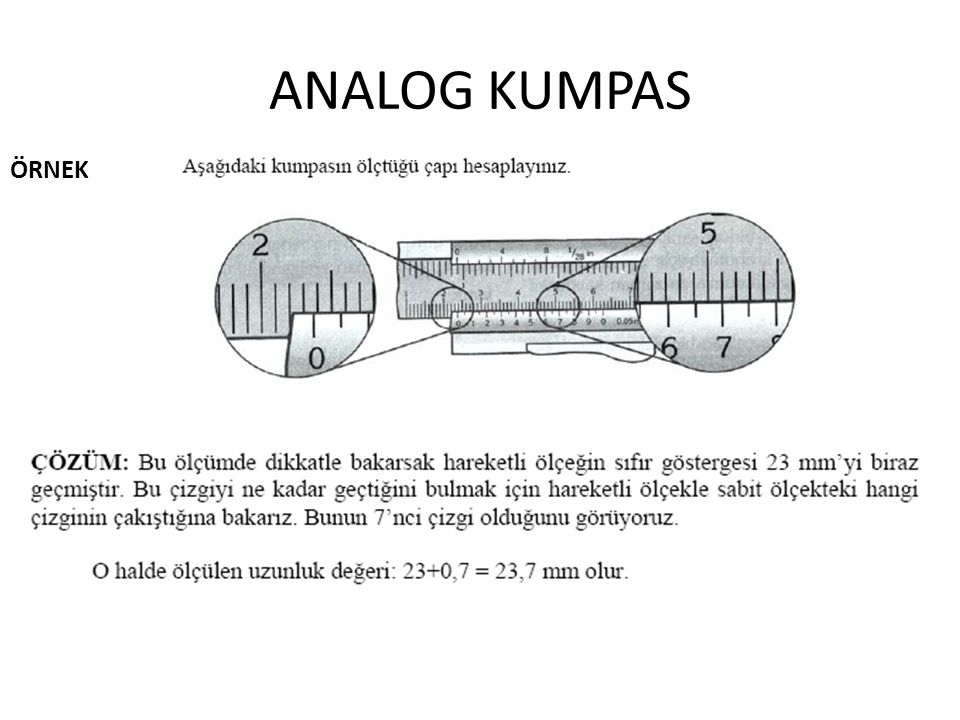 ANALOG KUMPAS ÖRNEK