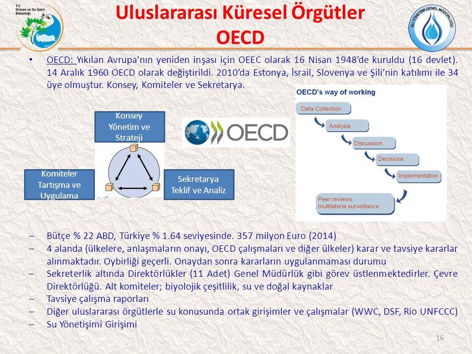 Uluslararası Küresel Örgütler OECD