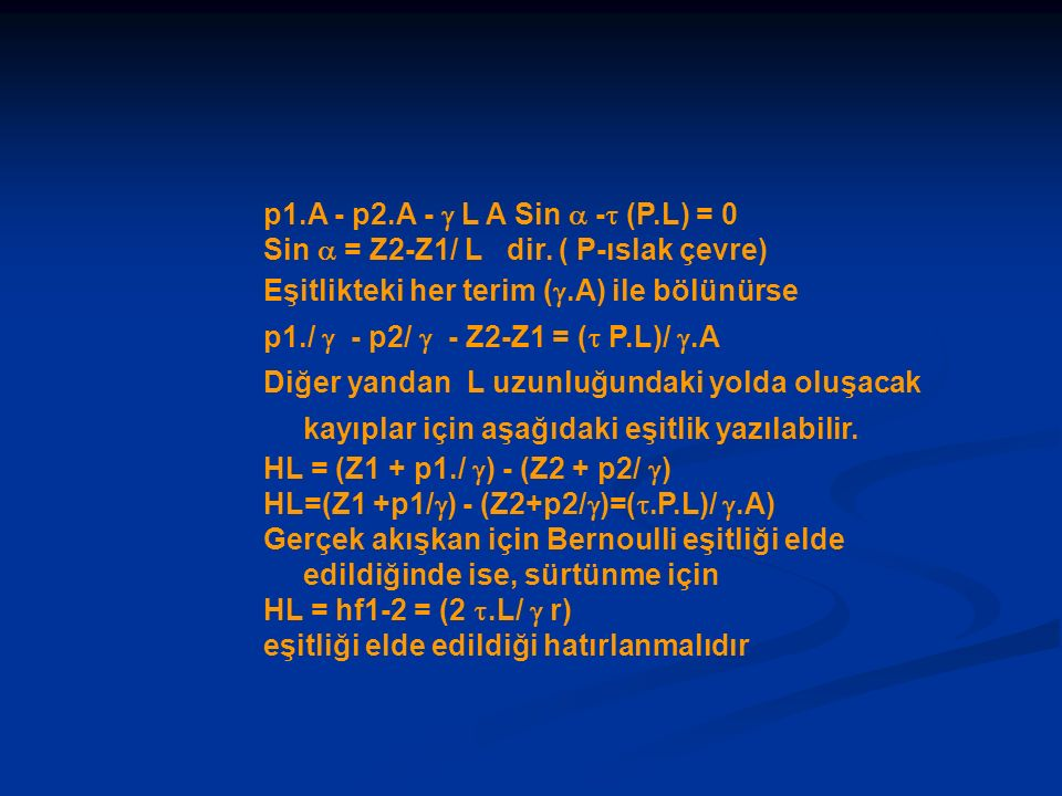 p1.A - p2.A -  L A Sin  - (P.L) = 0