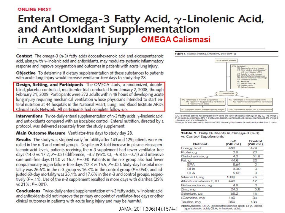 OMEGA Calismasi JAMA. 2011;306(14):1574-1581