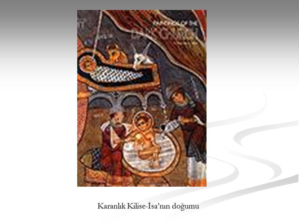 Karanlık Kilise-İsa'nın doğumu
