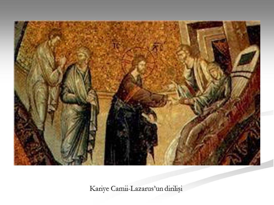 Kariye Camii-Lazarus'un dirilişi