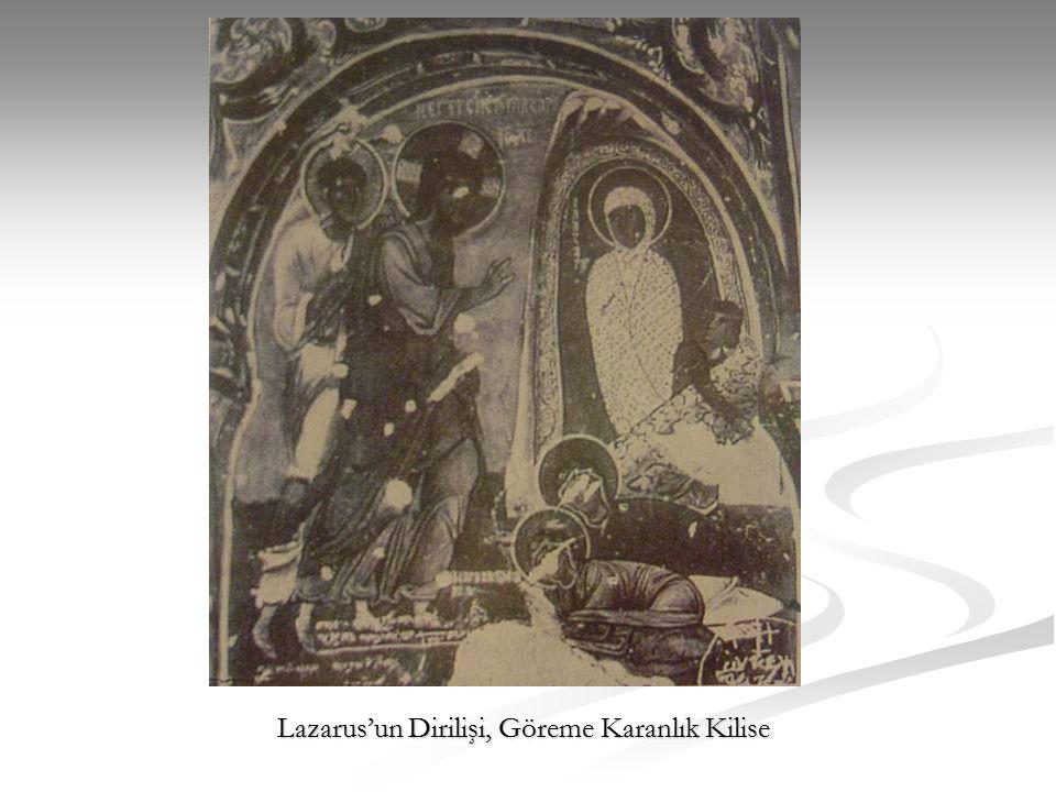 Lazarus'un Dirilişi, Göreme Karanlık Kilise