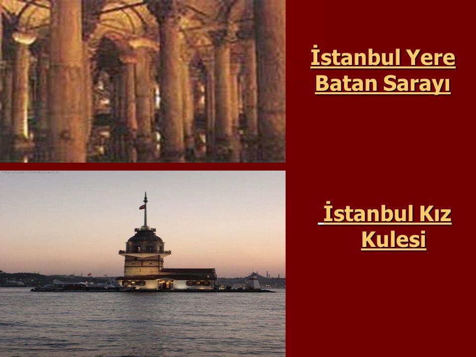 İstanbul Yere Batan Sarayı