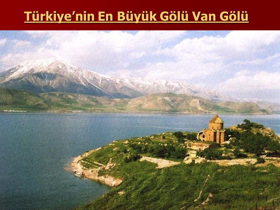 Türkiye'nin En Büyük Gölü Van Gölü
