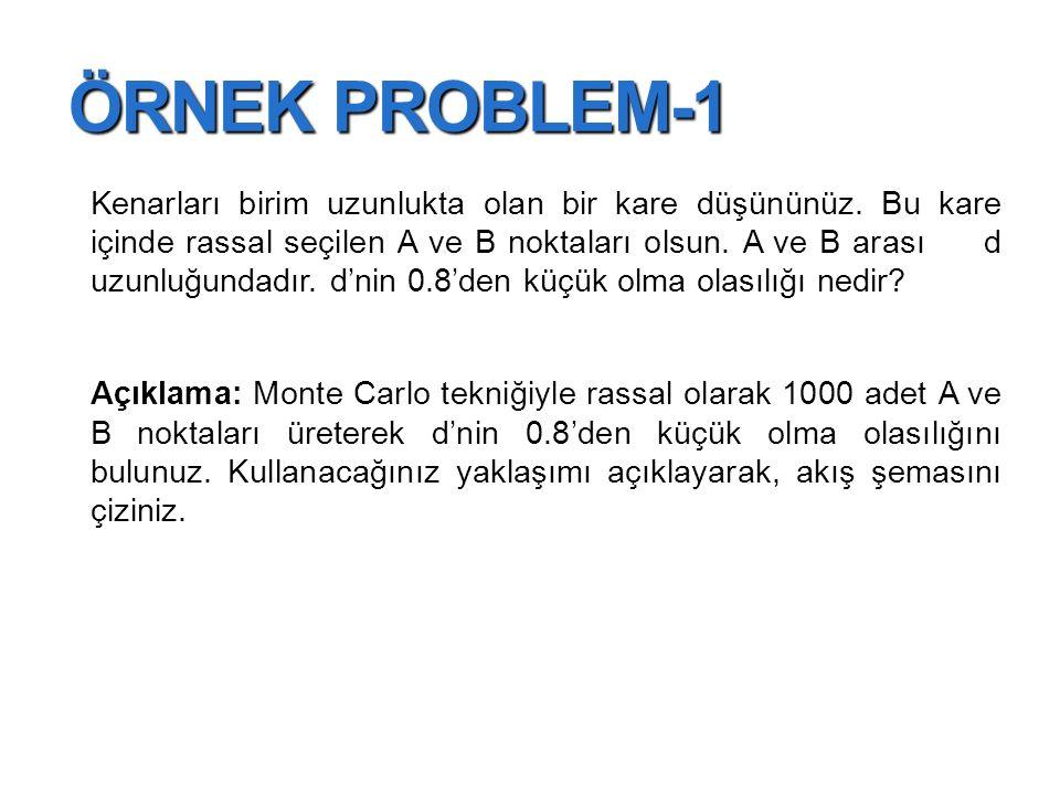 ÖRNEK PROBLEM-1
