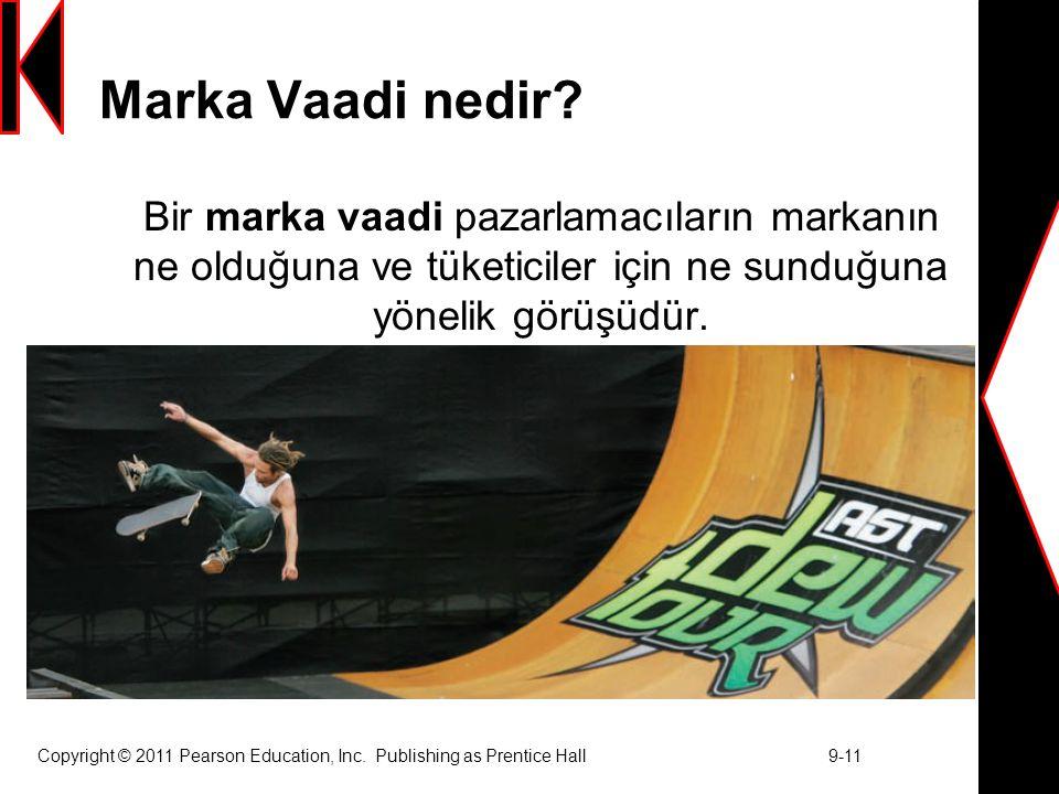 Marka Vaadi nedir Bir marka vaadi pazarlamacıların markanın ne olduğuna ve tüketiciler için ne sunduğuna yönelik görüşüdür.