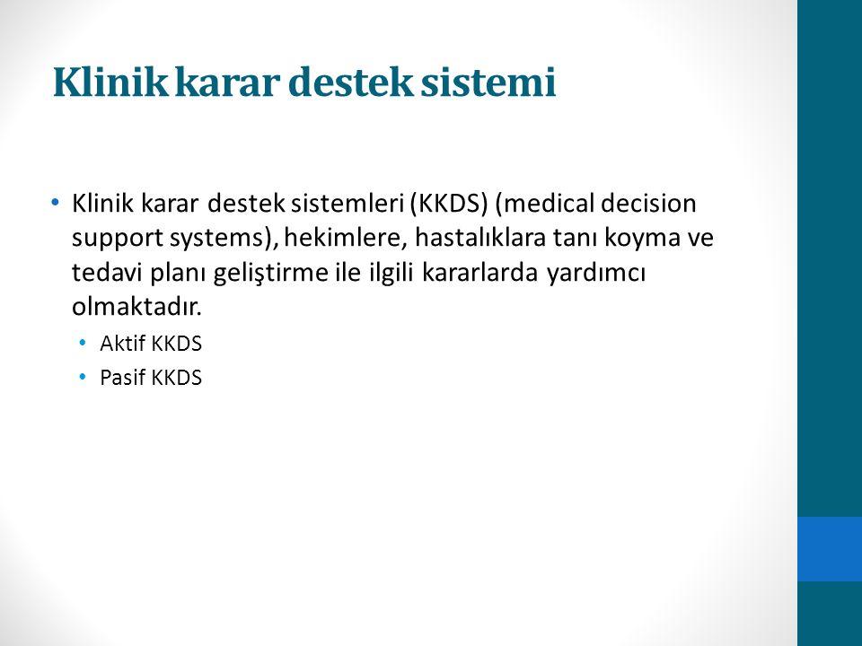Klinik karar destek sistemi
