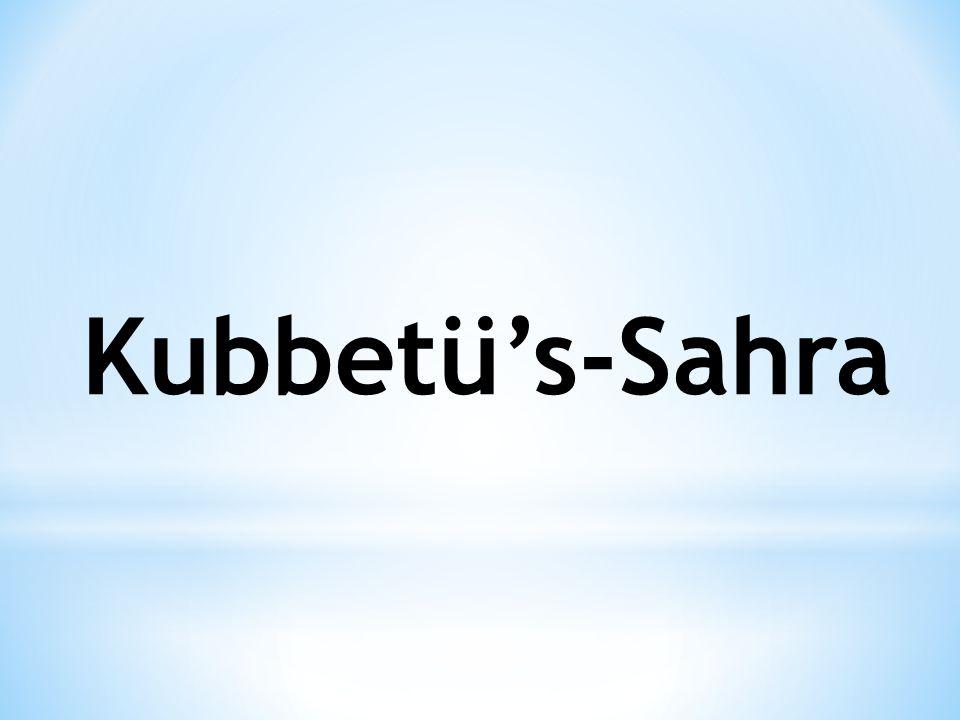 Kubbetü's-Sahra