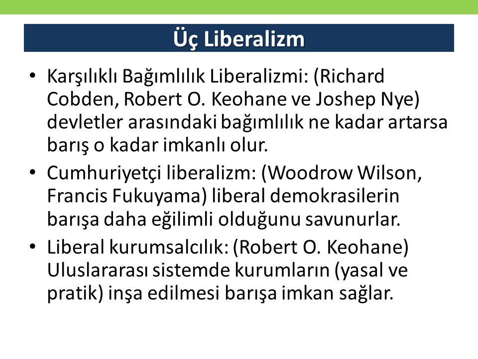 Üç Liberalizm