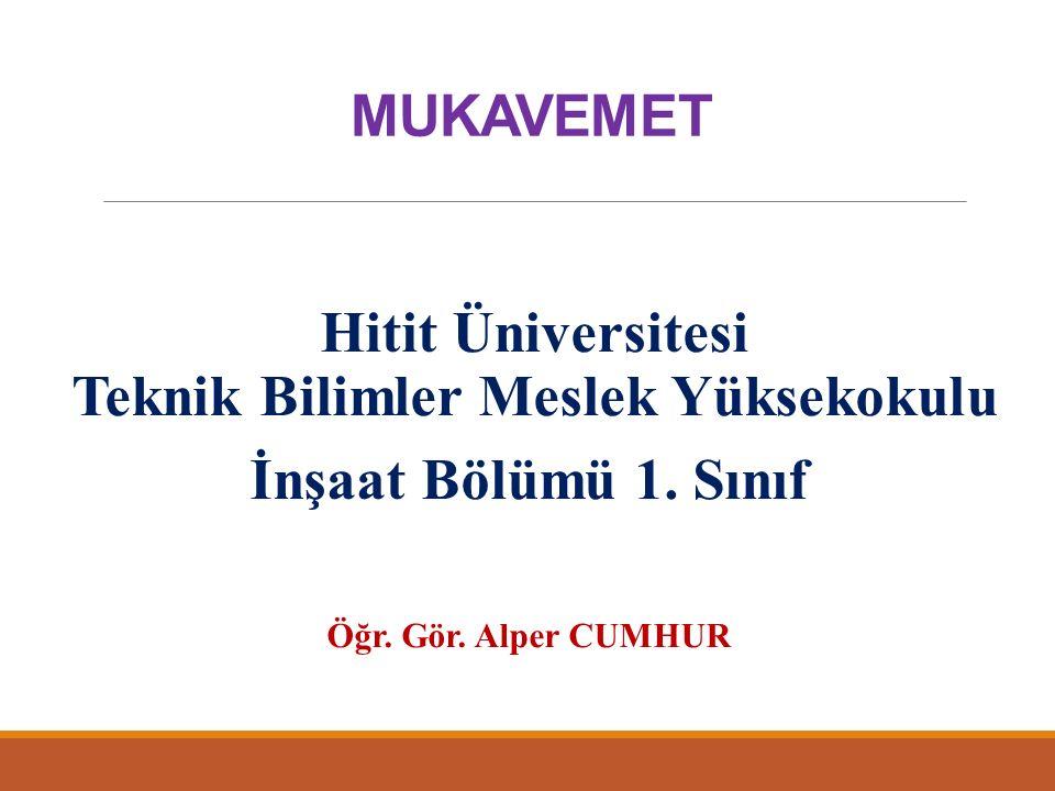 Hitit Üniversitesi Teknik Bilimler Meslek Yüksekokulu