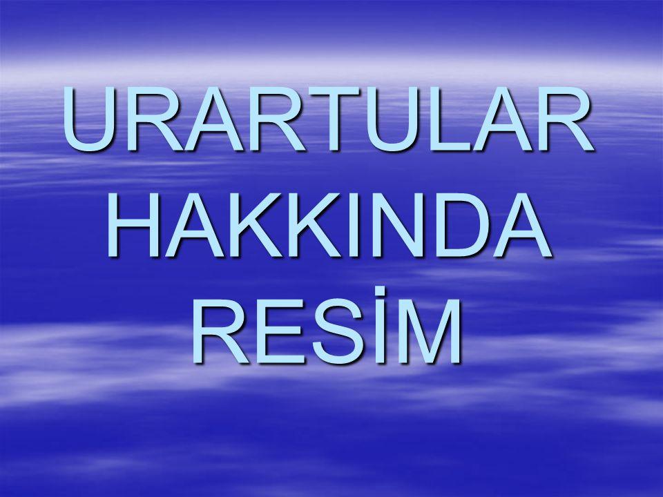 URARTULAR HAKKINDA RESİM