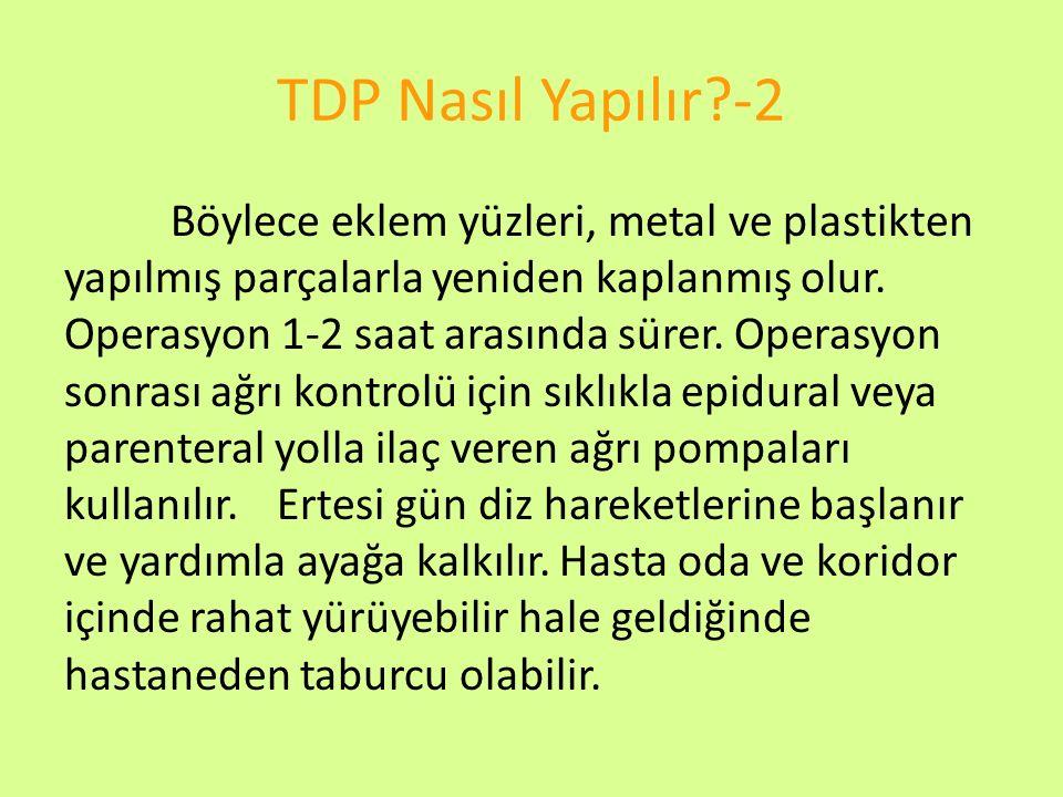 TDP Nasıl Yapılır -2