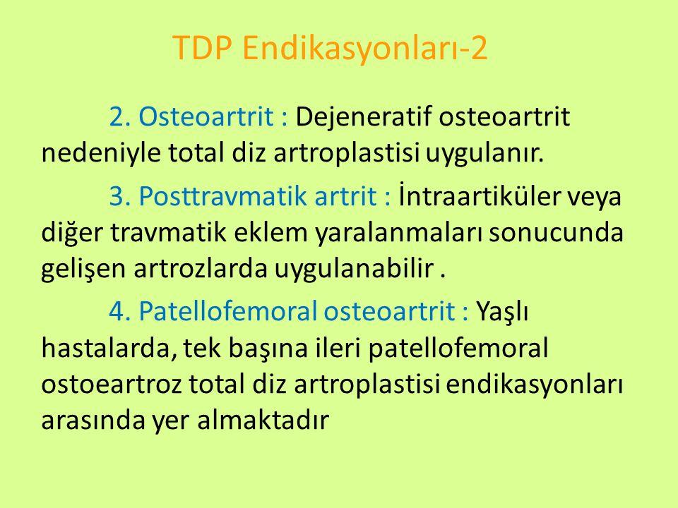 TDP Endikasyonları-2