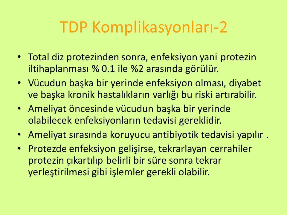 TDP Komplikasyonları-2