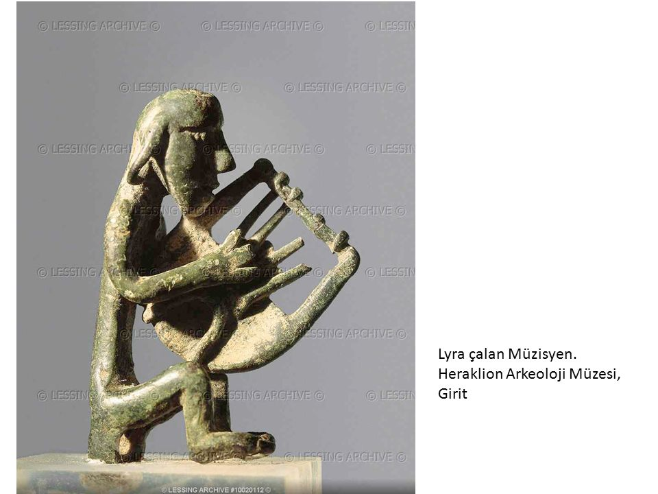 Lyra çalan Müzisyen. Heraklion Arkeoloji Müzesi, Girit