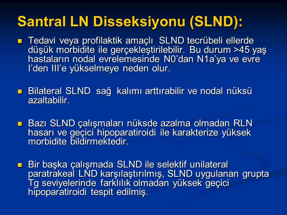 Santral LN Disseksiyonu (SLND):