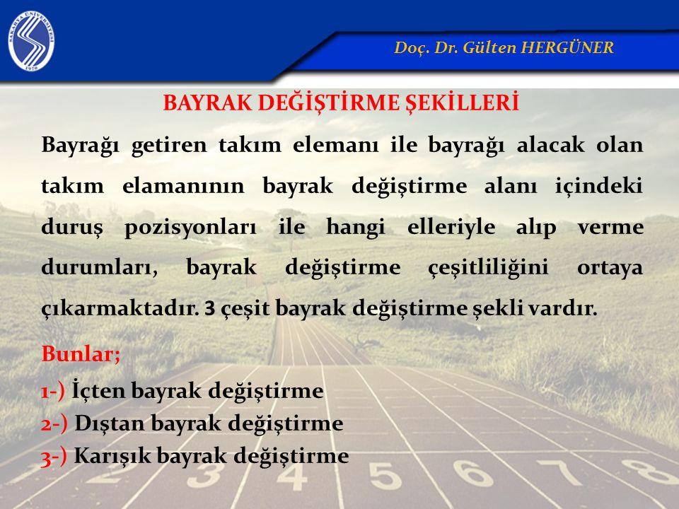BAYRAK DEĞİŞTİRME ŞEKİLLERİ